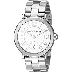 Marc Jacobs - Reloj Riley MJ3469 de acero inoxidable para mujer