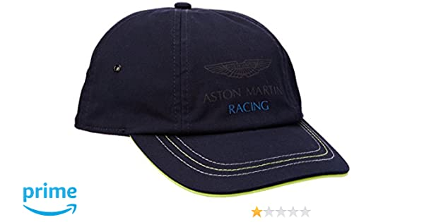 Hackett Mens Aston Martin Racing Cot Twill Baseball Cap, Blue (Navy 595), One Size Hackett