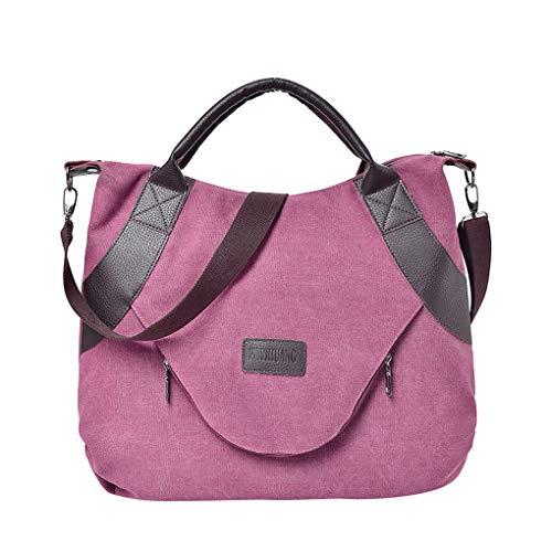Dorical Damen-Umhängetasche Damen 48x10x39cm Handtasche Umhängetasche Canvas Schultertasche...