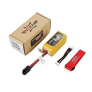 PETUNIA ACEHE 1300mAh 95C 14.8V 4S1P 22.2WH High Rated Lipo RC Battery with XT60 Plug - Yellow(14.8V 1300mAh 95C)