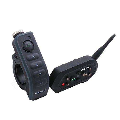Handheld Boom-mikrofon (ejeas × 6/BT nterphone Motorrad Bluetooth Sprechanlage Gegensprechanlage Motorrad Helm bluetooth headset, Hands-Free Intercom Sport Helm ideal für Reiten und Skifahren (bis zu 6Riders, 1200m, wasserdicht))