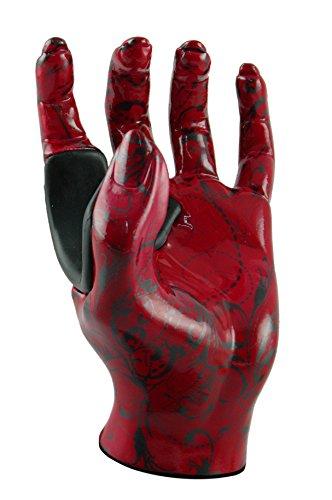 redgrip-studios-130-supporto-per-chitarra-motivo-henne-rosso-a-forma-di-mano-sinistra