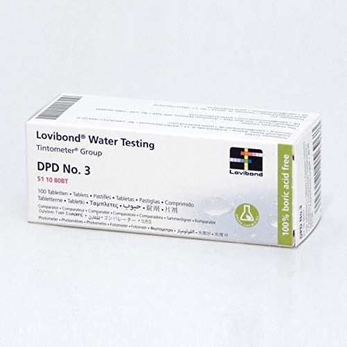 DPD No 3 Total Chlorine Tablets Box of 100 -