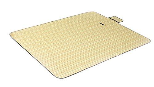 Honeystore 180*150 Oxford Yoga Matte Strand Ausflug Picknickdecke mit wasserabweisender Unterseite Gelb