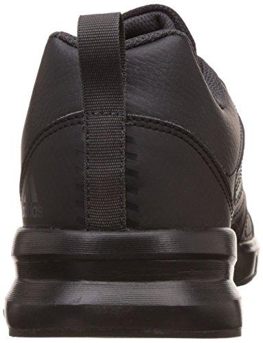 adidas Herren Essential Star 3 M Hallenschuhe, Schwarz Schwarz (Cblack/utiblk/ftwwht)