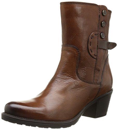 Clarks Maymie Skye, Damen Stiefel Braun (Cognac Leather)