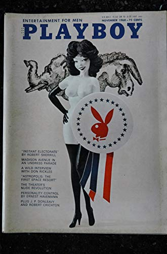 PLAYBOY US 1968 11 NOVEMBER INTERVIEW DON RICKLES PIN-UP VARGAS PAIGE YOUNG THEATER\'S NUDES SEXY