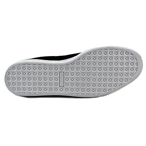 Puma Suede Classic+ Big Logo Daim Baskets Black-Asphalt-White