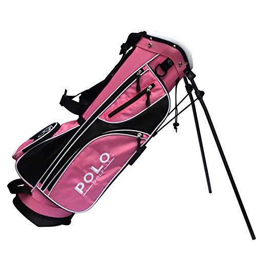 LXYIUN Golftasche,Kindertasche Kind Üben Halterpaket,Pink