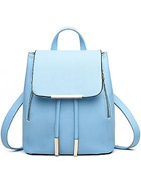 Rucksackhandtaschen,SEARCHALL mode umhängetasche rucksack pu - leder frauen mädchen damen rucksack reisetasche