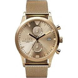 TRIWA Sort of Black Gold Chrono Wrist Watch gold LCST109_ME021313