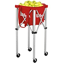 WILSON Teaching Cart Carrito para Pelotas-Unisex, Adulto, NS