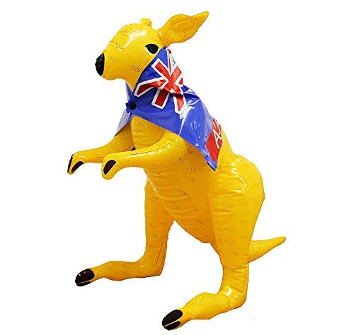 AUFBLASBARES KANGAROO UNGEFÄHR 70CM GROSS = DAS PERFEKTE ZUBEHÖR FÜR THEMEN PARTY DER AUSTRALIEN ART = VON (Baywatch Kostüme Australien)
