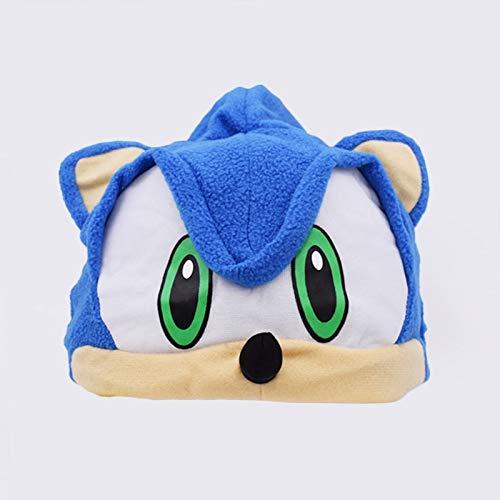 Erwachsene Kostüm Sonic Für - xuritaotao Sonic The Fleece Plüschhut Cosplay Kostüme Blau Spielzeug Brinquedos Für Erwachsene Teenager Geschenke