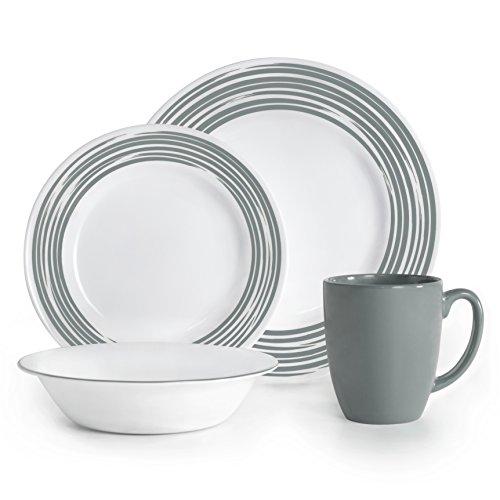 corelle-vitrelle-glass-brushed-chip-and-break-resistant-dinner-set-set-of-16-silver