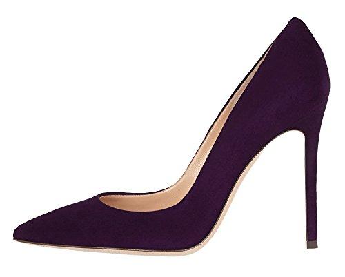 Guoar - Scarpe chiuse Donna Violett