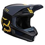 Fox Helmet V-1 Mata Navy/Yellow Xxl