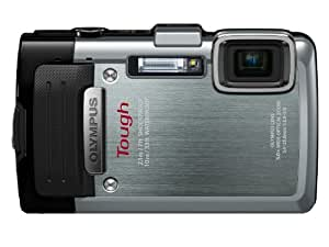 Olympus Stylus TOUGH TG-830 Digital Compact Camera - Silver (16MP, 5x Wide Optical Zoom) 3 inch LCD