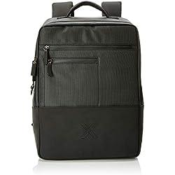 Munich Backpack City Business, Bolsa para portátil para Hombre, Negro (Black) 13x41x31 cm (W x H x L)