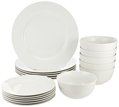 AmazonBasics 18-Piece Dinnerware...