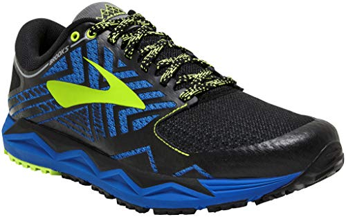 Brooks Caldera 2, Scarpe da Running Uomo, Multicolore (Blue/Black/Lime 427), 44 EU