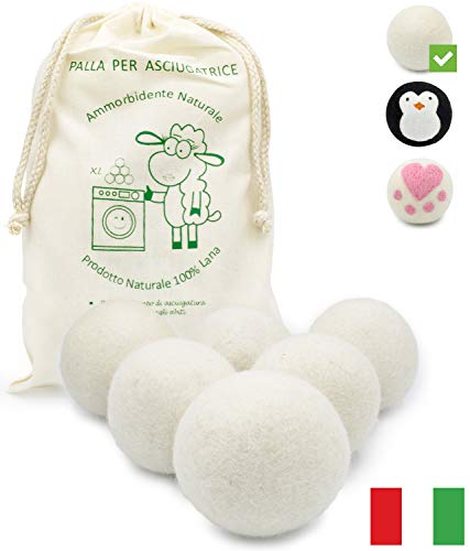 MGKolbe - Bola para secadora de lana 100%