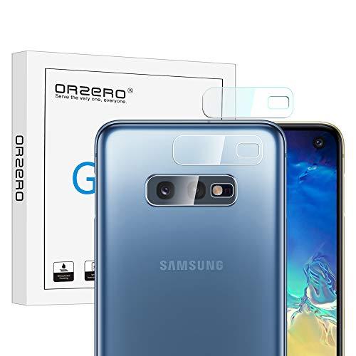 NEWZEROL Ersatz für Samsung Galaxy S10e Kamera Schutzfolie, [3 stück] 2.5D Arc Edges Hochauflösender Kamera Flexible Panzerglas Schutzfolie - CLAR [Lifetime-Ersatzgarantie] (2 Kamera Galaxy)