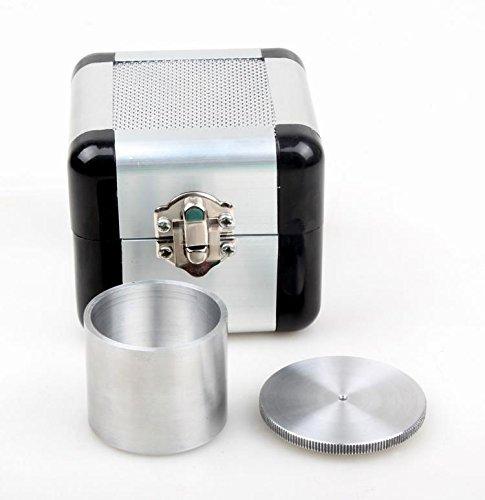ele ELEOPTION QBB Aluminiumlegierung Farbe Dichte Tasse Schwerkraft Tassen flüssigkeit Spezifische Gewicht Tasse Dichte Determiner flüssigkeit Pyknometer (50ML)