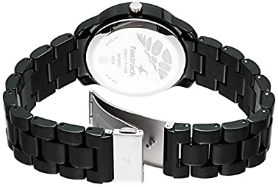 Fastrack Trendies Analog Black Dial Women's Watch-68006PP01