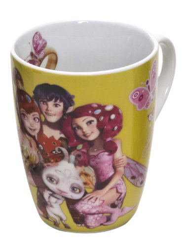 Joy Toy 118100 Tasse Mia and Friends, ovale, coffret cadeau, dimensions : 10 x 8 x 11 cm
