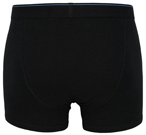 Ex Store Herren Boxershorts aus Baumwolle, mit elastischem Eingriff, 3er-Pack 3 Pack Black