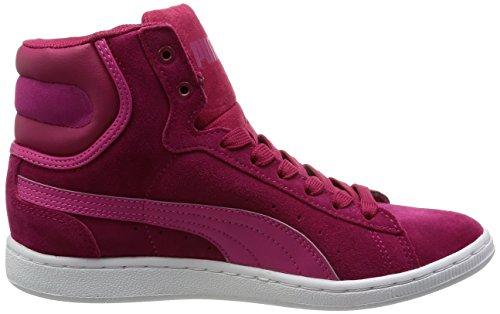 Puma Puma Vikky Mid Wn's, Baskets hautes femme Rouge - Rot (cerise-fuchsia purple 01)
