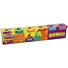 Play-Doh - Pack 4 + 2 colores brillantes (Hasbro 23566148)