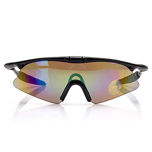rille Schießbrille Taktische Brille Reiten Sonnenbrille CS Brille Sportbrille, Polykarbonat, weiß, Einheitsgröße ()