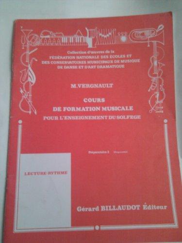 Cours De Formation Musicale Pour L'enseignement Du Solfege - Préparatoire 2 - Lecture-rythme