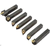 VEVOR Carbure indexable 1/2po Outils De Tournage En Carbure 7pcs tour à métaux pour différents types de produits de…