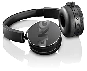 AKG Y50BT Wireless Headphone Bluetooth Sealed DJ Style Y50BTBLK (Black)