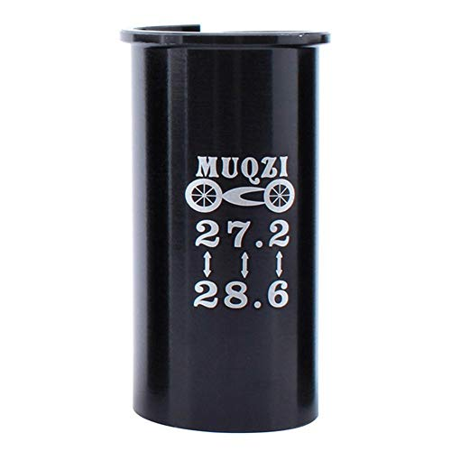 AFFEco MTB Rennrad Sattelrohr Aluminium Sattelstütze Reduzierhülse (27,2-28,6 mm) -