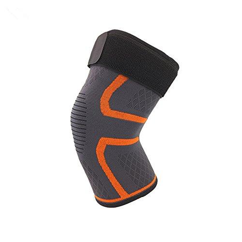 HEETEY Outdoor & Sport Sicherheit Neue Knie-Hülsen-Kompressions-Klammer-Unterstützung für Sport-Gelenk-Schmerz-Arthritis-Entlastung -