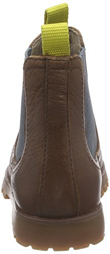 Camper Compas, Boots Chelsea à doublure chaude mixte enfant Marron - Braun (Medium Brown)