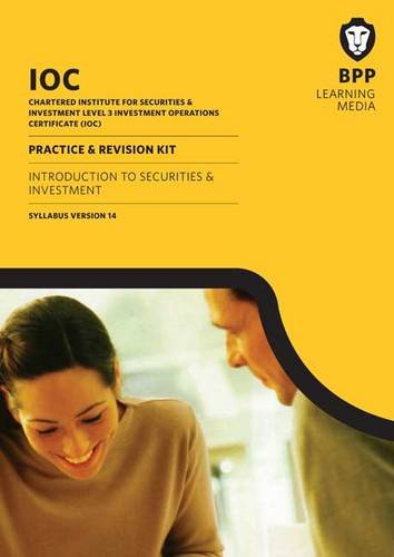 IOC Introduction to Securities and Investment Syllabus Version 14: Practice and Revision Kit