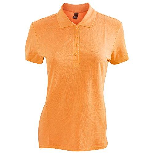 SOLS Passion - Polo 100% coton à manches courtes - Femme Orange
