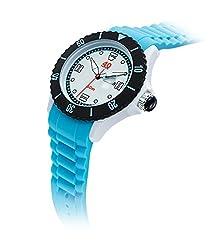 40Nine Mens 40NINE01/BLUE40 Extra Large 50mm Analog Display Japanese Quartz Blue Watch