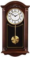 Vedette VP60001 - Reloj de pared analógico de pendulo de cuarzo - madera de Vedette