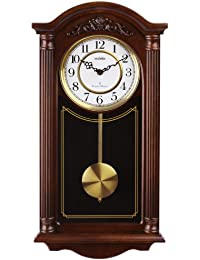 Vedette VP60001 - Reloj de pared analógico de pendulo de cuarzo - madera