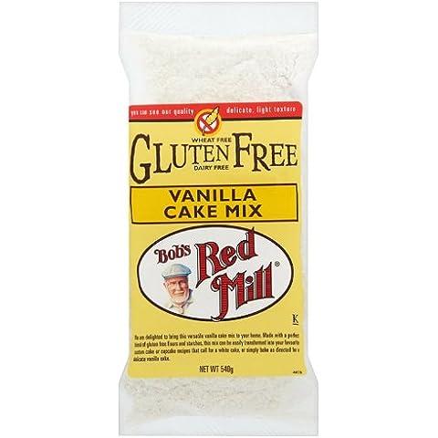Bob's Red Mill Gluten Free Vanilla Cake Mix 540 g (Pack of 2)