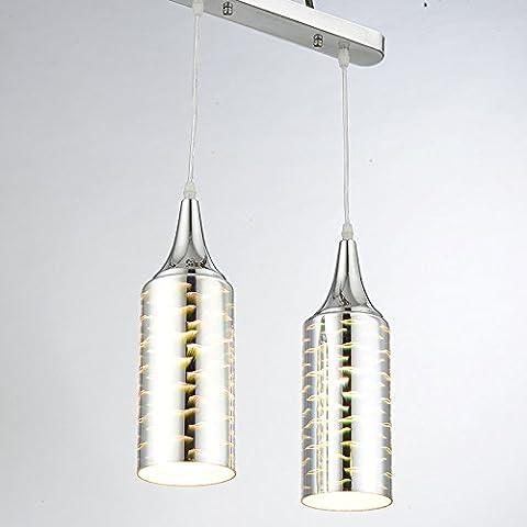 Moderna lampada pendente Fondata personalizzato dopo un soggiorno moderno e minimalista di personalità di lampadari luci bottiglia di vino ristorante lampade, B