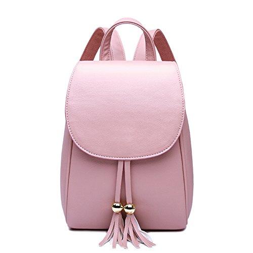 Cap nappa borsa a tracolla/ borsa di colore puro/ College stile zaino/Borse donna-B A