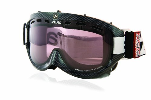 Zeal Optics Limited Edition Link PPX Photochromatisch und pol-carbon Brillen (Snowboard-schutzbrillen Ski-optic)