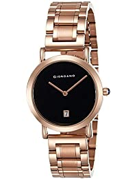Giordano Analog Black Dial Women's Watch-2810-11